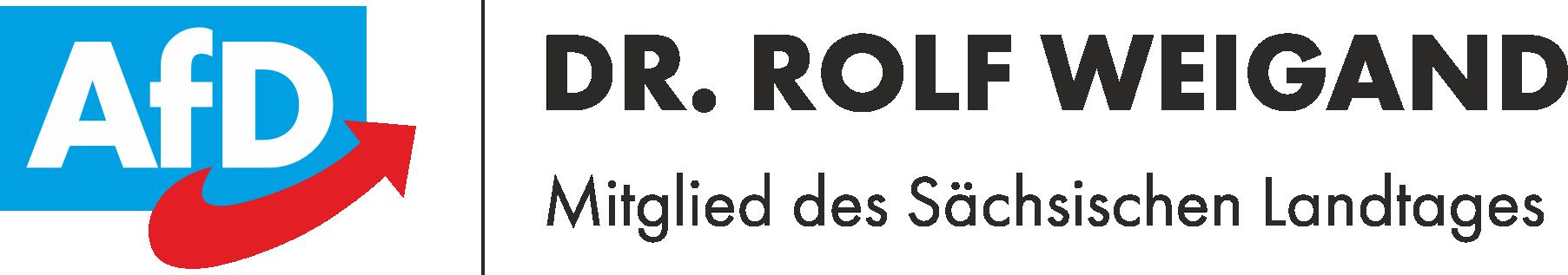 MdL Dr. Rolf Weigand │ AfD Sachsen